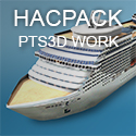 Hacpack PTS3D Work - il porto in 3D